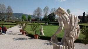Villa Cordellina Lombardi, vista sulla Corte Sud